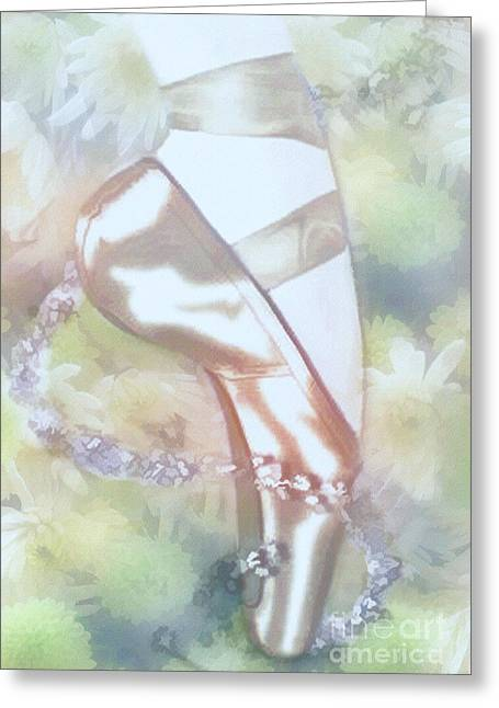 Ballet Magic Greeting Card by Elaine Manley
