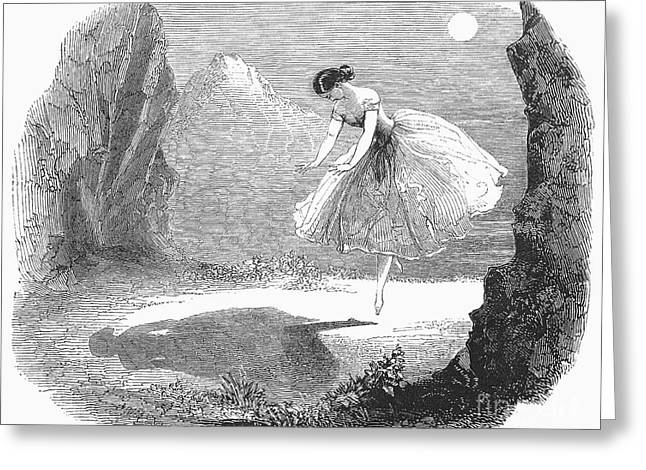 Cesare Greeting Cards - Ballet: Ondine, 1843 Greeting Card by Granger