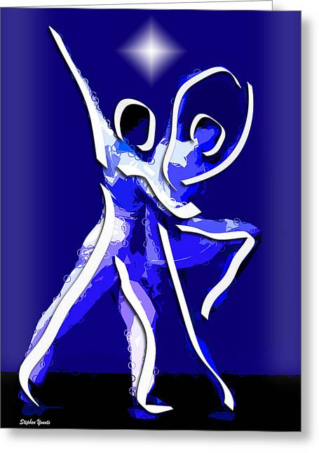 Ballet Greeting Card by Stephen Younts