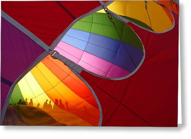 Inflation Greeting Cards - Balloons as Art 5 Greeting Card by Craig Johnson