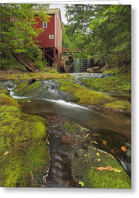 Balmoral Greeting Cards - Balmoral Grist Mill In Balmoral Mills Greeting Card by Darwin Wiggett
