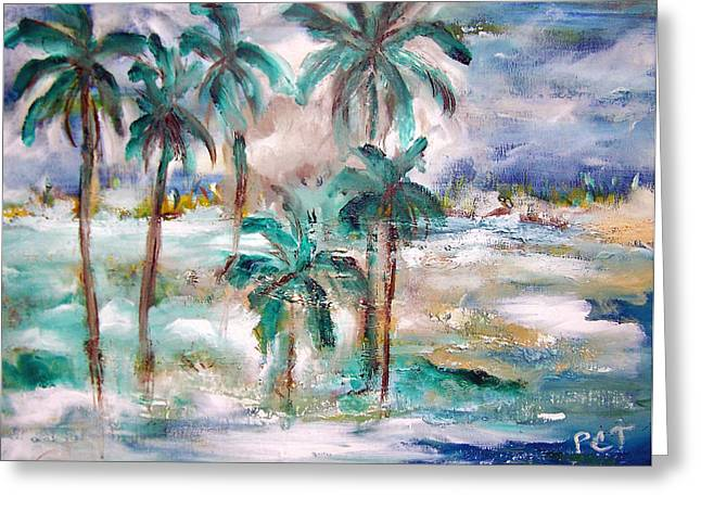 Patricia Taylor Greeting Cards - Balmy Breezy Days Greeting Card by Patricia Taylor