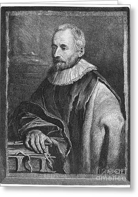 Balthasar Greeting Cards - Balthasar Moretus (1574-1641) Greeting Card by Granger