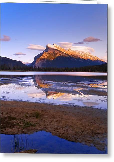 Banff National Park, Alberta, Canada Greeting Card by Carson Ganci