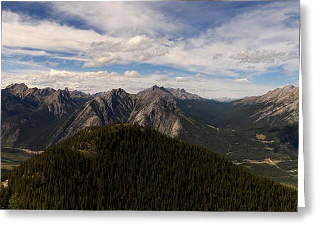 Large Scale Greeting Cards - Banff National Park Greeting Card by Josh Lucas