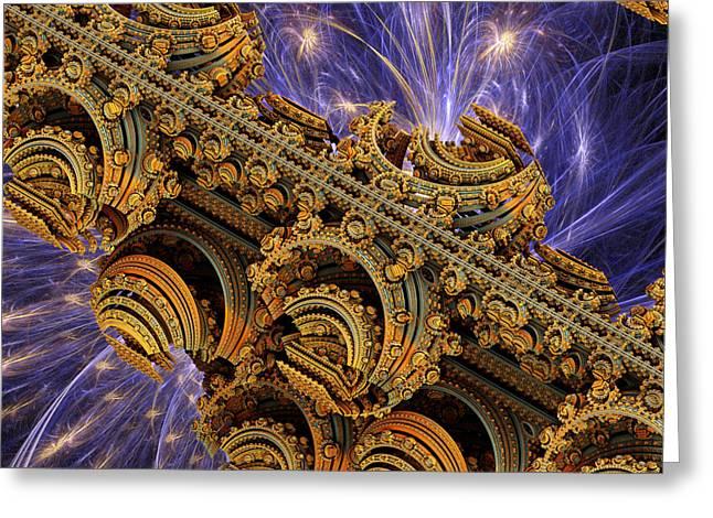 Space Greeting Cards - Bangkok Palace Greeting Card by Pam Blackstone