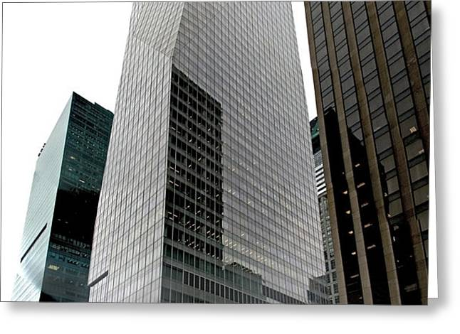 Bank Of America Greeting Card by S Paul Sahm