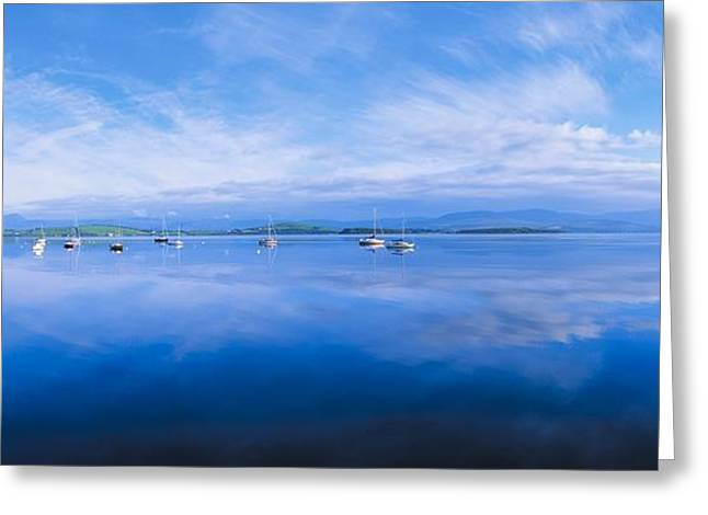 Ocean Panorama Greeting Cards - Bantry Bay, Whiddy Island, Co Cork Greeting Card by The Irish Image Collection