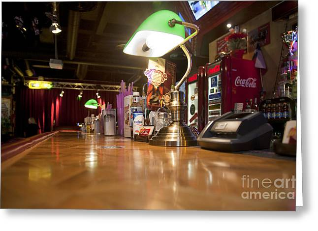 Tallinn Greeting Cards - Bar Counter Top at an American Style Diner Greeting Card by Jaak Nilson