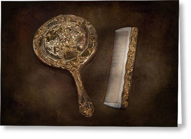 Barber - I'm so pretty Greeting Card by Mike Savad