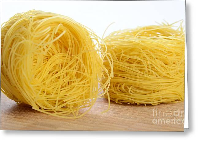Noodles Greeting Cards - Barbina Pasta Greeting Card by Photo Researchers, Inc.