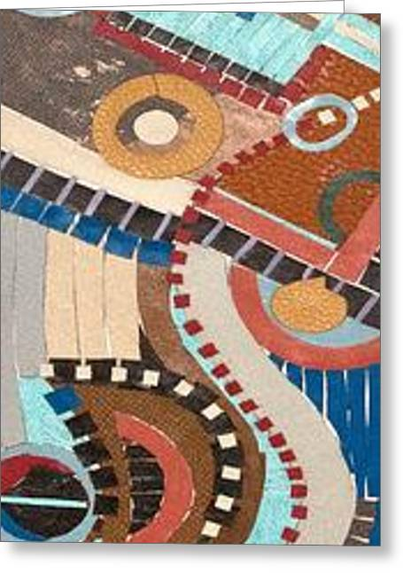 Barca Greeting Card by Annette  Gardiner