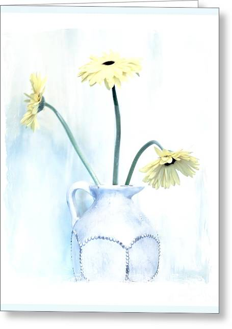 Pottery Pitcher Digital Greeting Cards - Barely There Greeting Card by Marsha Heiken