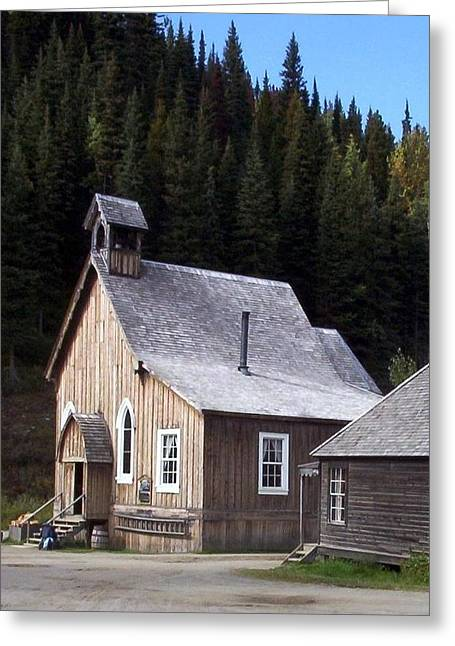 Barkerville Greeting Cards - Barkerville Greeting Card by Susan Saver