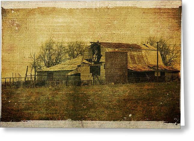 Barn Landscape Photographs Greeting Cards - Barn 3 Greeting Card by Toni Hopper