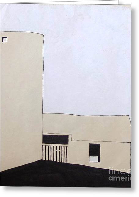 Pen And Ink Drawing Photographs Greeting Cards - Barn 5 Greeting Card by Rod Ismay