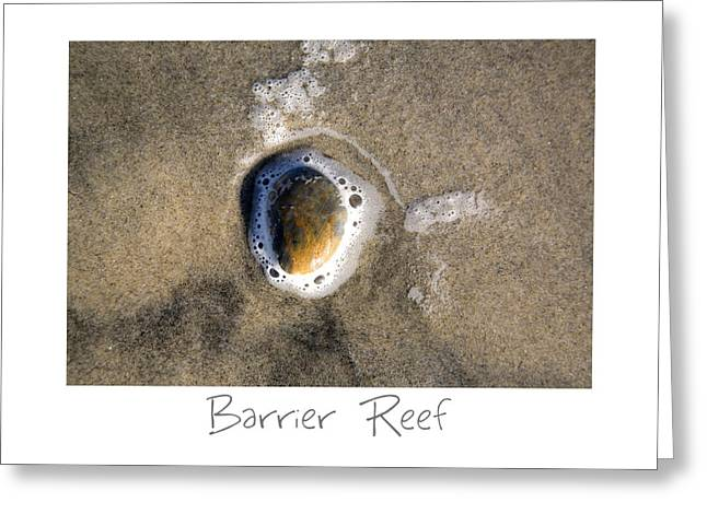 California Beach Art Greeting Cards - Barrier Reef Greeting Card by Peter Tellone
