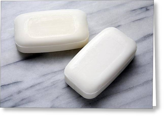 Tablets Greeting Cards - Bars Of Soap Greeting Card by Victor De Schwanberg