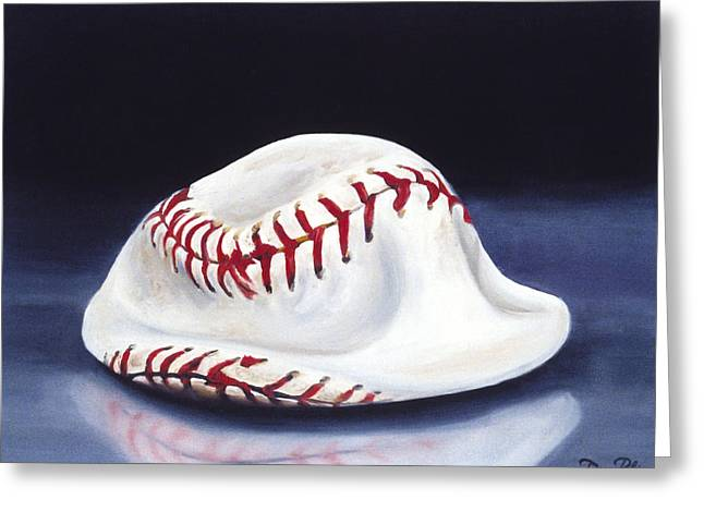 Baseball '04 Greeting Card by Redlime Art