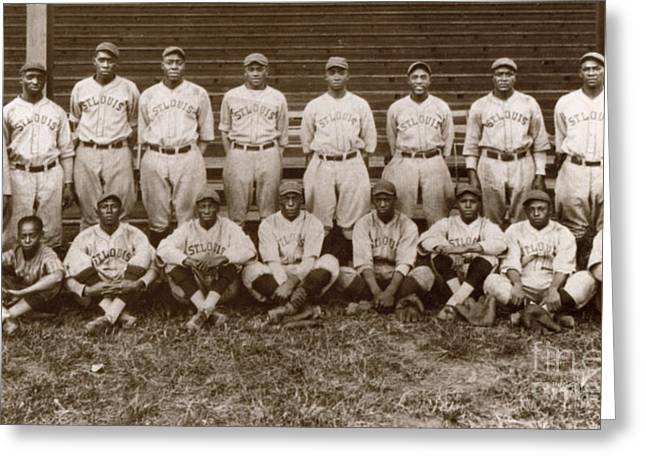 Star Alliance Greeting Cards - Baseball: Negro Leagues Greeting Card by Granger