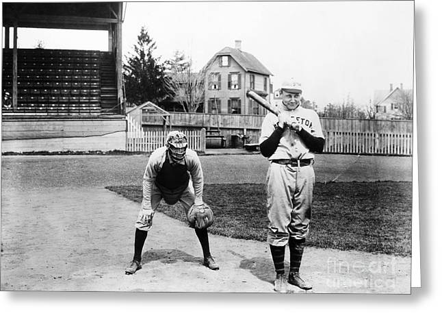 1901 Greeting Cards - Baseball: Princeton, 1901 Greeting Card by Granger