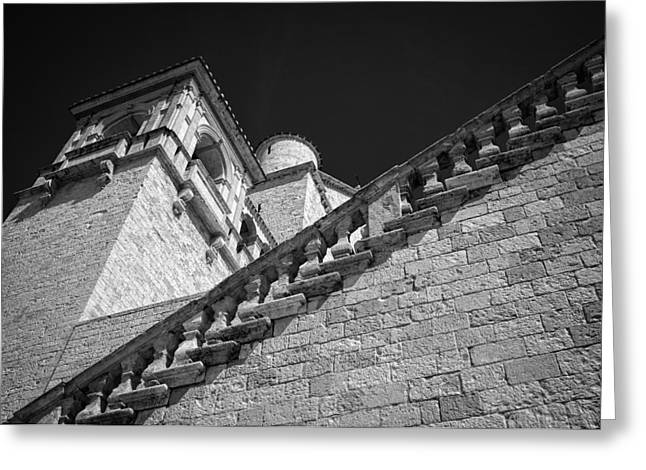 San Francesco Greeting Cards - Basilica Greeting Card by Michael Avory