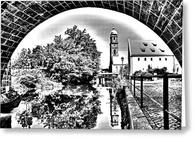 Oberpfalz Greeting Cards - Basilika St. Martin  Greeting Card by Juergen Weiss