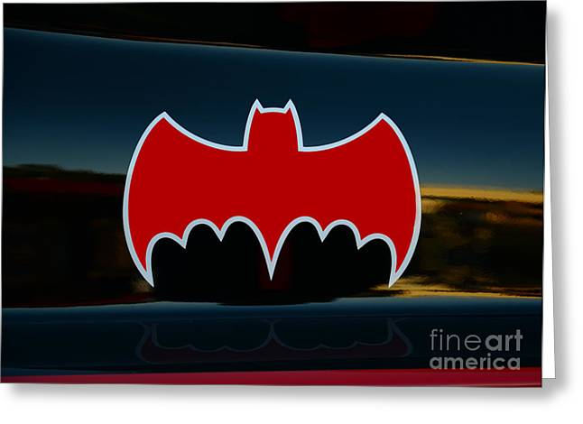 Gotham City Greeting Cards - Batman - Batmobile - Dark Knight Greeting Card by Paul Ward