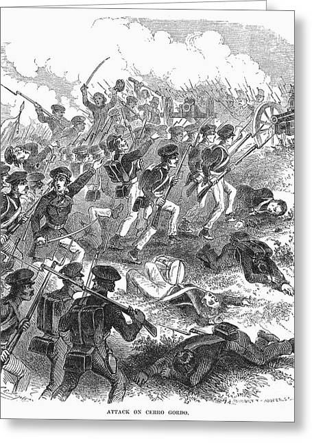Bayonet Greeting Cards - Battle Of Cerro Gordo Greeting Card by Granger