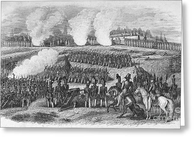 BATTLE OF CHAPULTEPEC Greeting Card by Granger