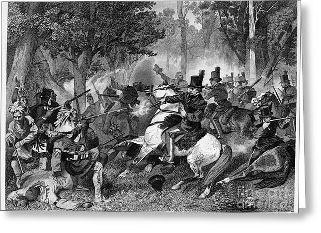 U.s Army Greeting Cards - Battle Of The Thames Greeting Card by Granger