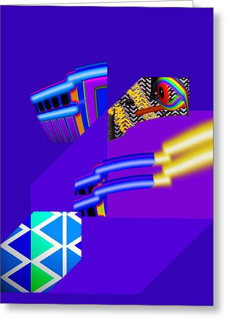 Recently Sold -  - Fed Digital Greeting Cards - Bazooka Greeting Card by Charles Stuart
