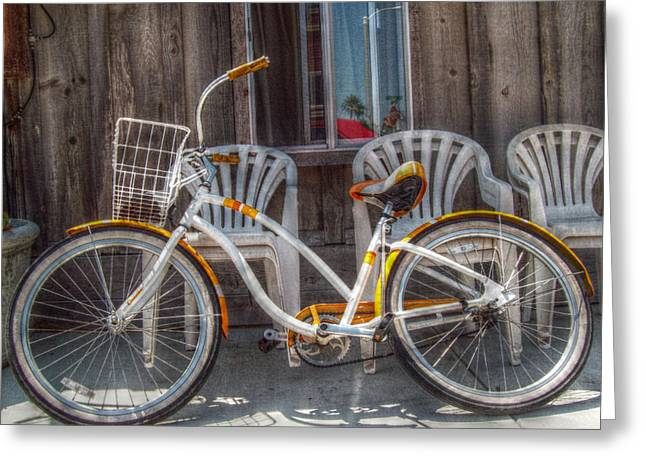Ventura California Greeting Cards - Beach Cruiser Greeting Card by Cindy Nunn