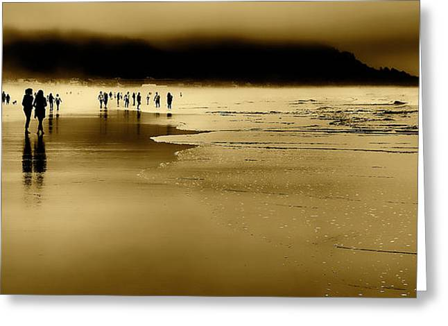 Beachcomber Greeting Cards - Beach Fog II Greeting Card by David Patterson