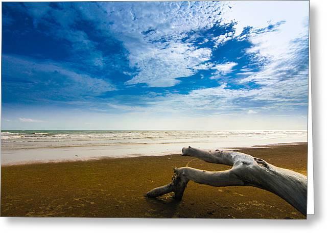 Nawarat Namphon Photographs Greeting Cards - Beach Greeting Card by Nawarat Namphon