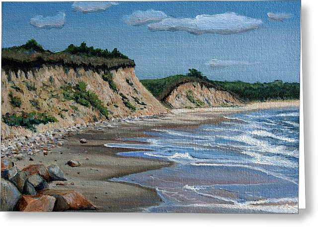 Sandy Beaches Greeting Cards - Beach Greeting Card by Paul Walsh