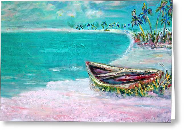 Patricia Taylor Greeting Cards - Beached 4 Greeting Card by Patricia Taylor