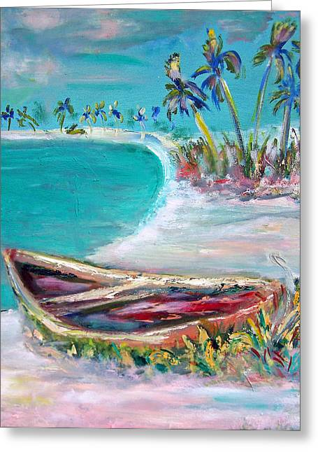 Patricia Taylor Greeting Cards - Beached 5 Greeting Card by Patricia Taylor