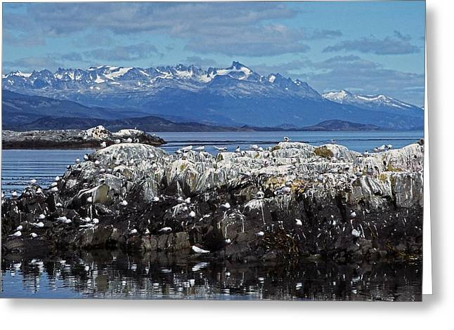 Himmel Greeting Cards - Beagle Channel - Tierra del Fuego Greeting Card by Juergen Weiss