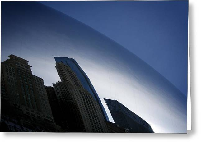 The Bean Greeting Cards - Bean Reflection Greeting Card by Shane Rees