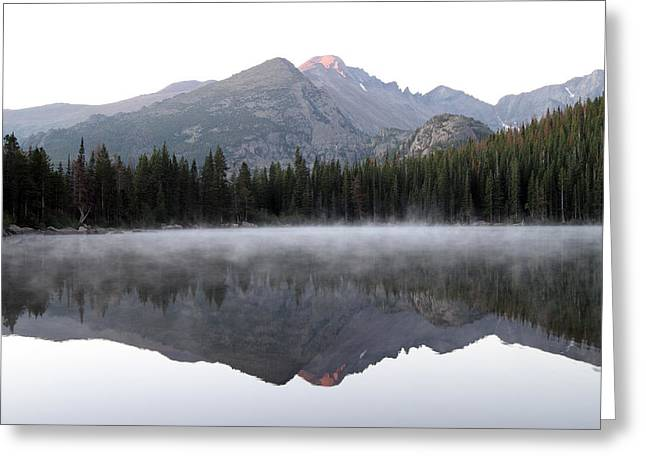 David Yunker Greeting Cards - Bear Lake Greeting Card by David Yunker