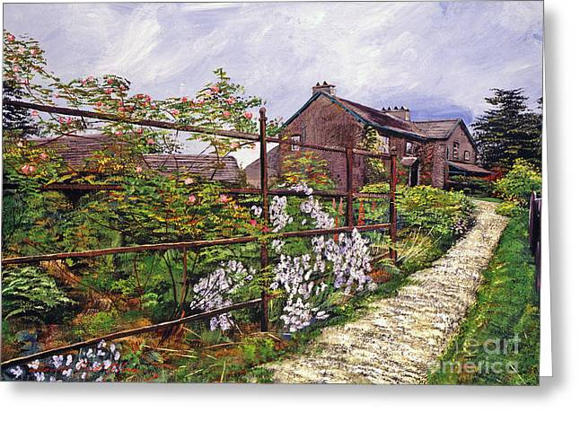 English Cottages Greeting Cards - Beatrix Potter House Greeting Card by David Lloyd Glover