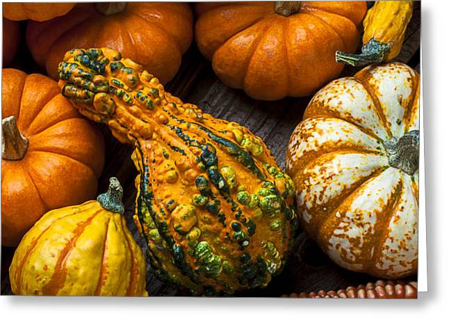 Beautiful autumn Greeting Card by Garry Gay
