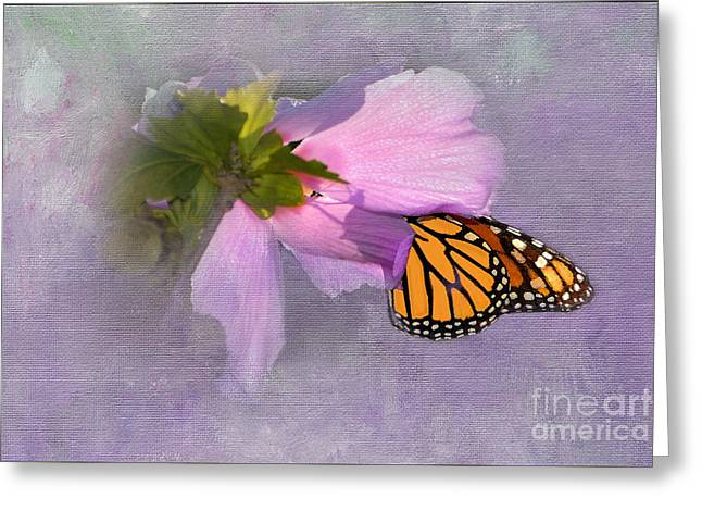 Althea Digital Art Greeting Cards - Beautiful in Pink Greeting Card by Betty LaRue