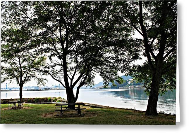 Jenny Senra Pampin Greeting Cards - Beautiful Landscape Greeting Card by Jenny Senra Pampin