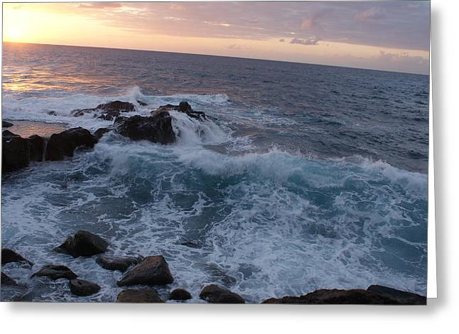 Luis And Paula Lopez Greeting Cards - Beautiful Ocean Greeting Card by Luis and Paula Lopez