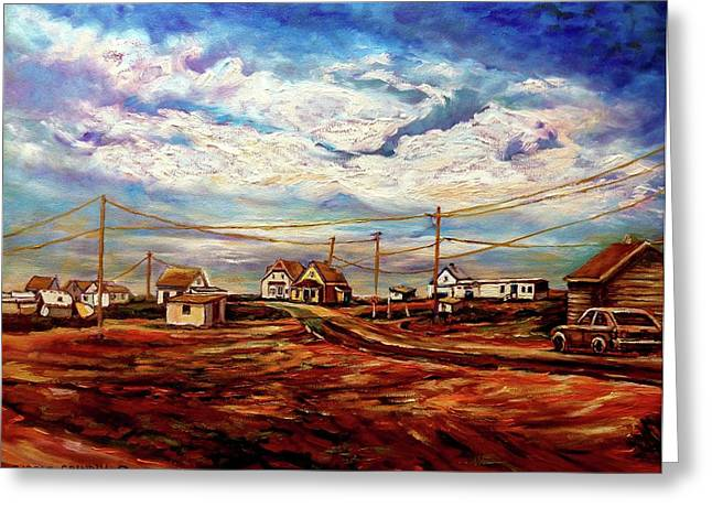 Charming Vistas Greeting Cards - Beautiful Prince Edward Island Maritime Canada Greeting Card by Carole Spandau