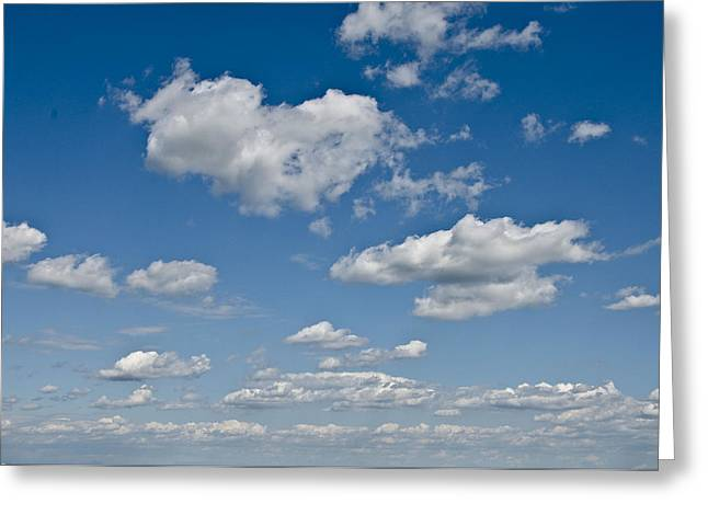Bluesky Greeting Cards - Beautiful Skies Greeting Card by Bill Cannon
