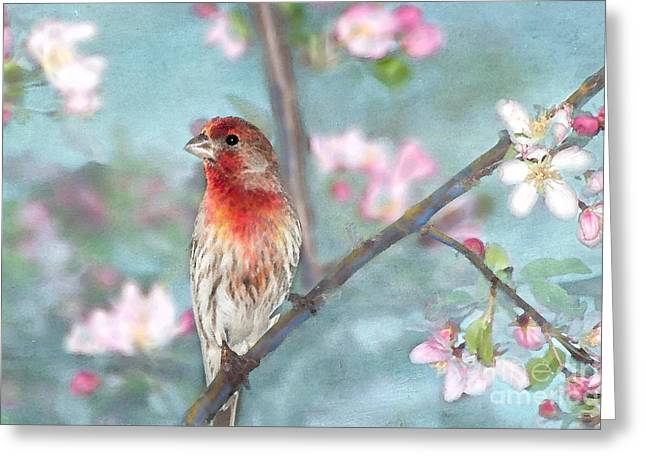 Beautiful Spring Greeting Card by Betty LaRue