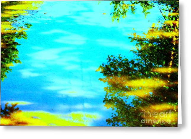 Beautiful Summer Day Greeting Card by Pauli Hyvonen